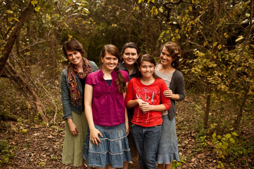 Micah, Grace, Lydia, Ruth, and me! :) Picture courtesy of Joel ;)