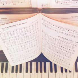 Hymn singing. :)