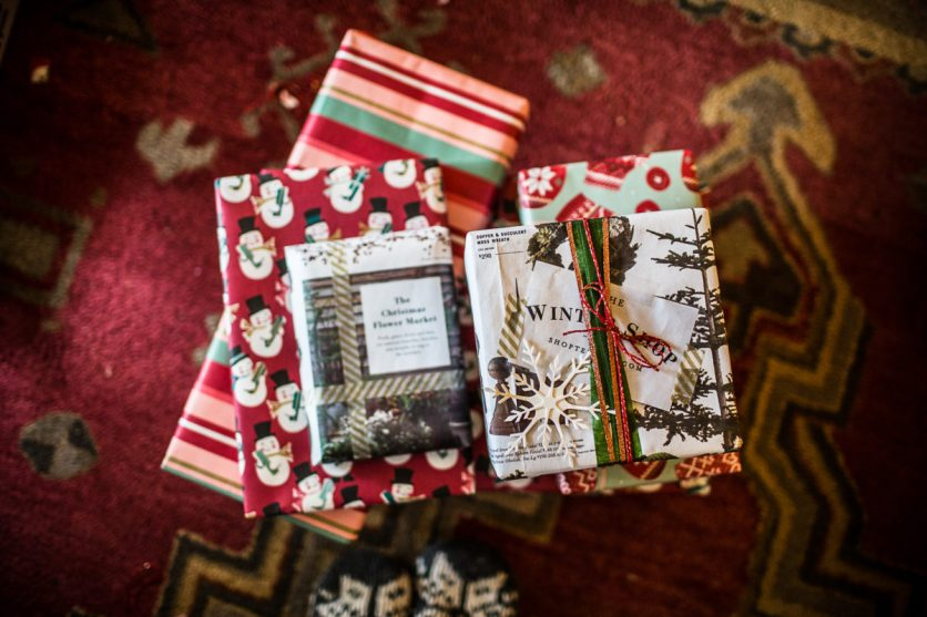 Micah does the most beautiful wrapping!!