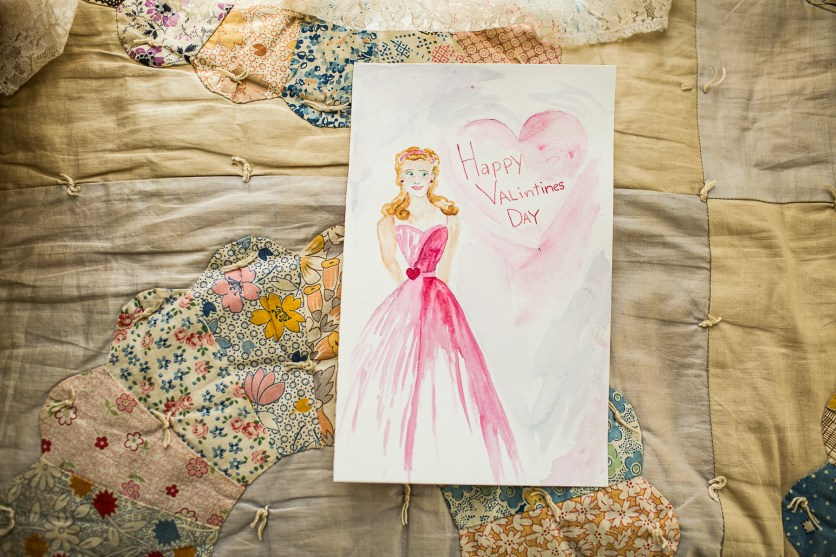 Beautiful VDAY painting from RUTH!!!!