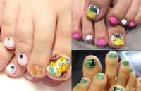 50 Toe Nail Designs | Pedicure Ideas for Every Season ...
