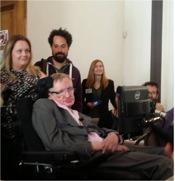 Stephen Hawking London Tenerife Starmus