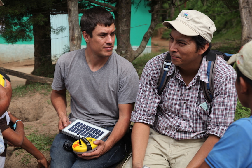 Sebastian Africano Trees Water People solar energy Honduras