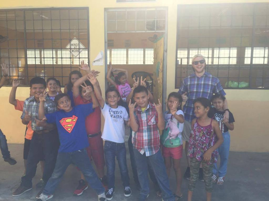 Michael Driscoll at Villa Soleada Bilingual School Honduras Shin Fujiyama Podcast