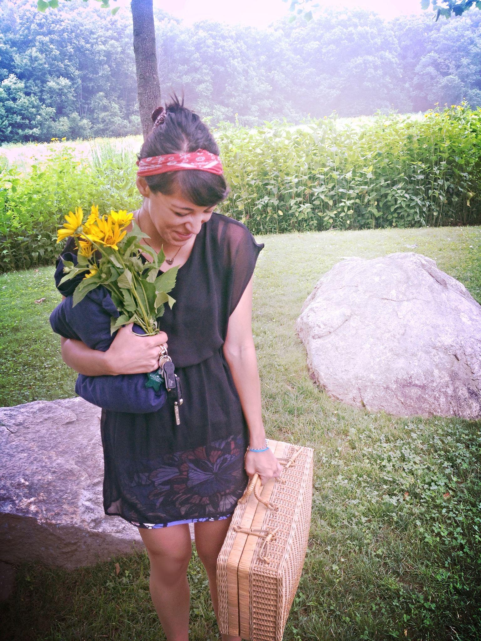 Amanda Fennell with flower | Students Helping Honduras | Shin Fujiyama Podcast