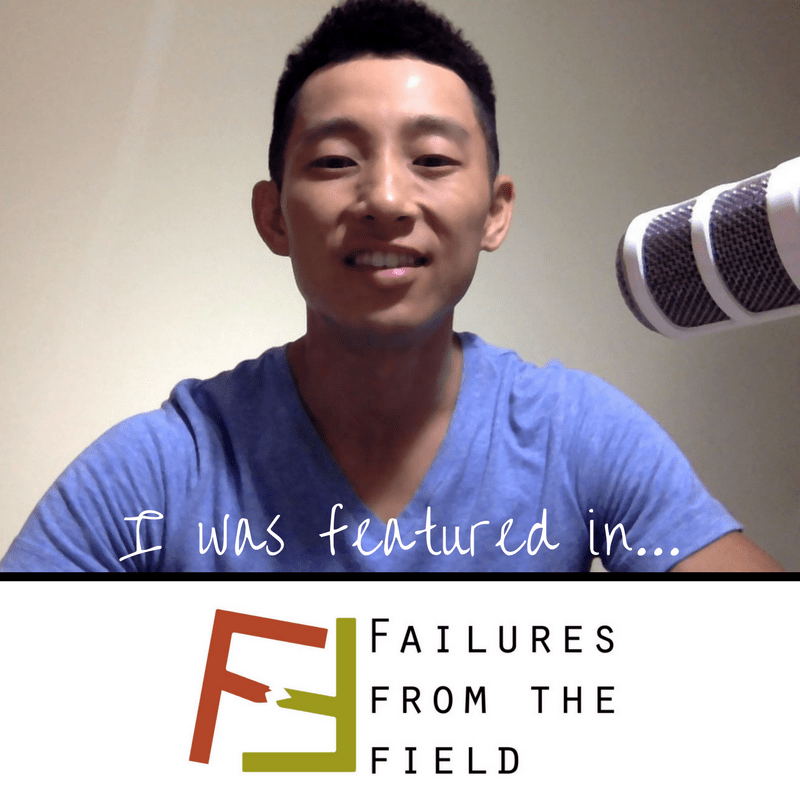 Shin Fujiyama on Failures From The Field Podcast