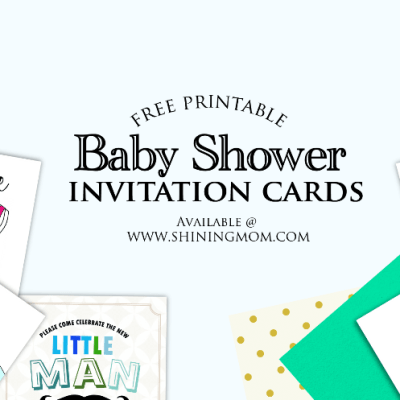 All Cute: Free Baby Shower Invitations to Print