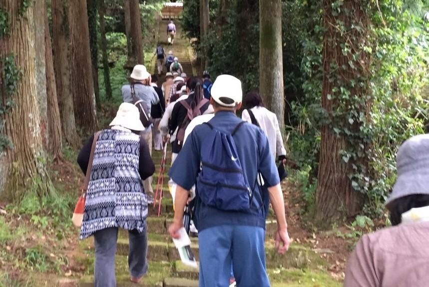 しんじ歴史ウォーキング6/2(土)開催終了次は秋!