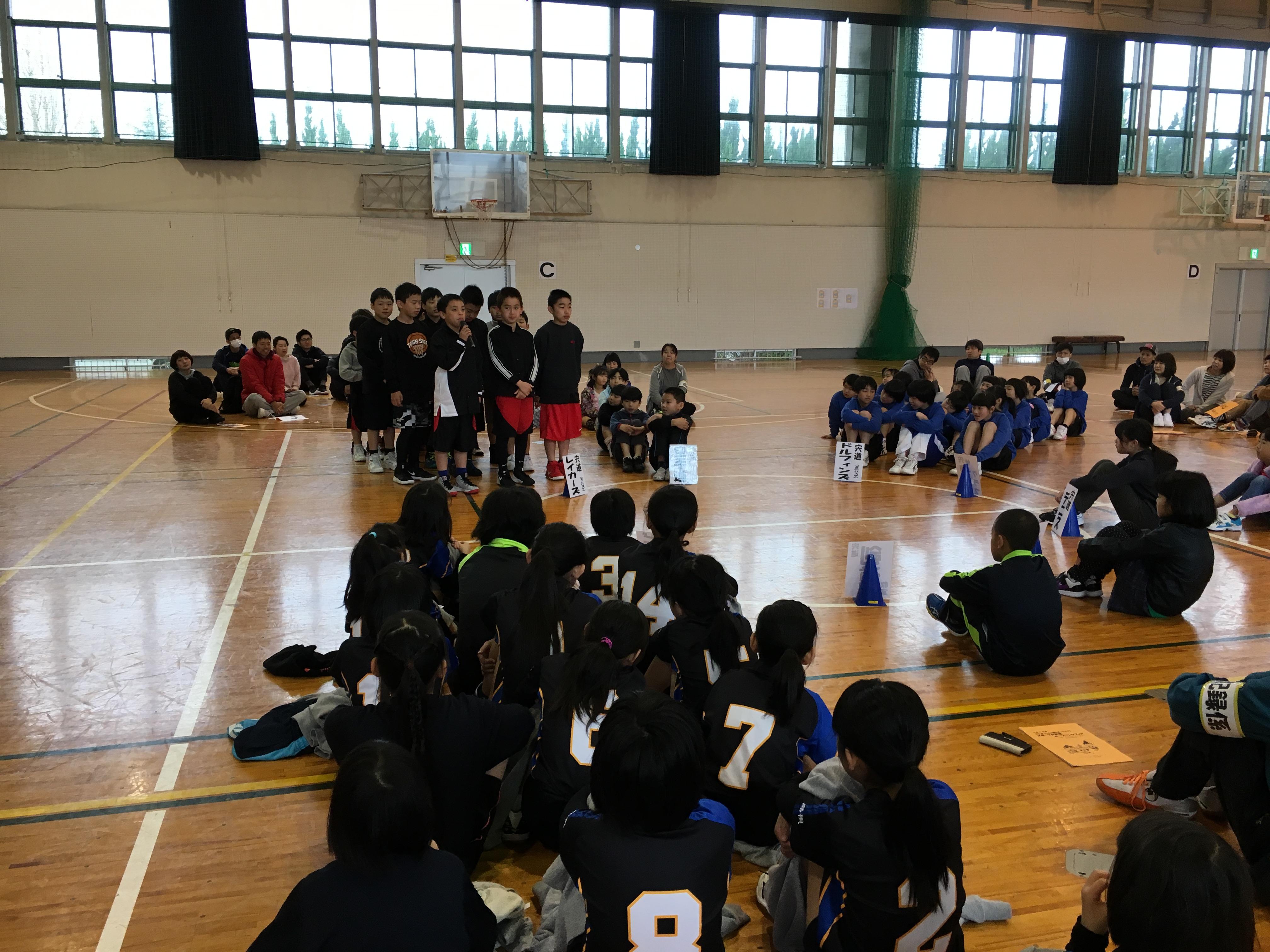 オープニングフェア(スポ少入団式)4/14(日)開催終了!