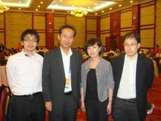 左から木野田先生、花岡先生、 関 巍先生、小林先生