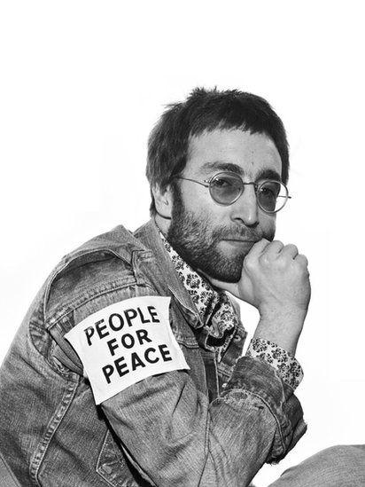 John Lennon in 1970—Photo by Harry Goodwin