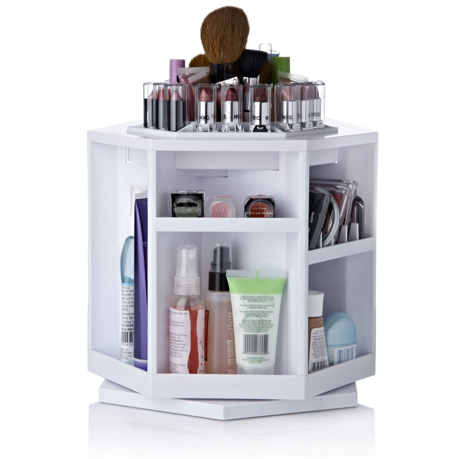 Console Maquillage Ikea 5 Super Handy Makeup Storage Ideas Shinyshiny
