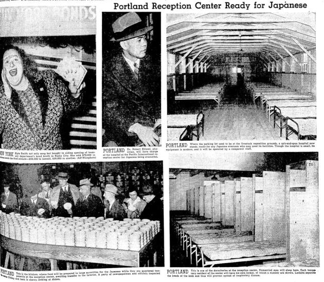 1942 05 02 Dr Shiomi Evacuation Reception