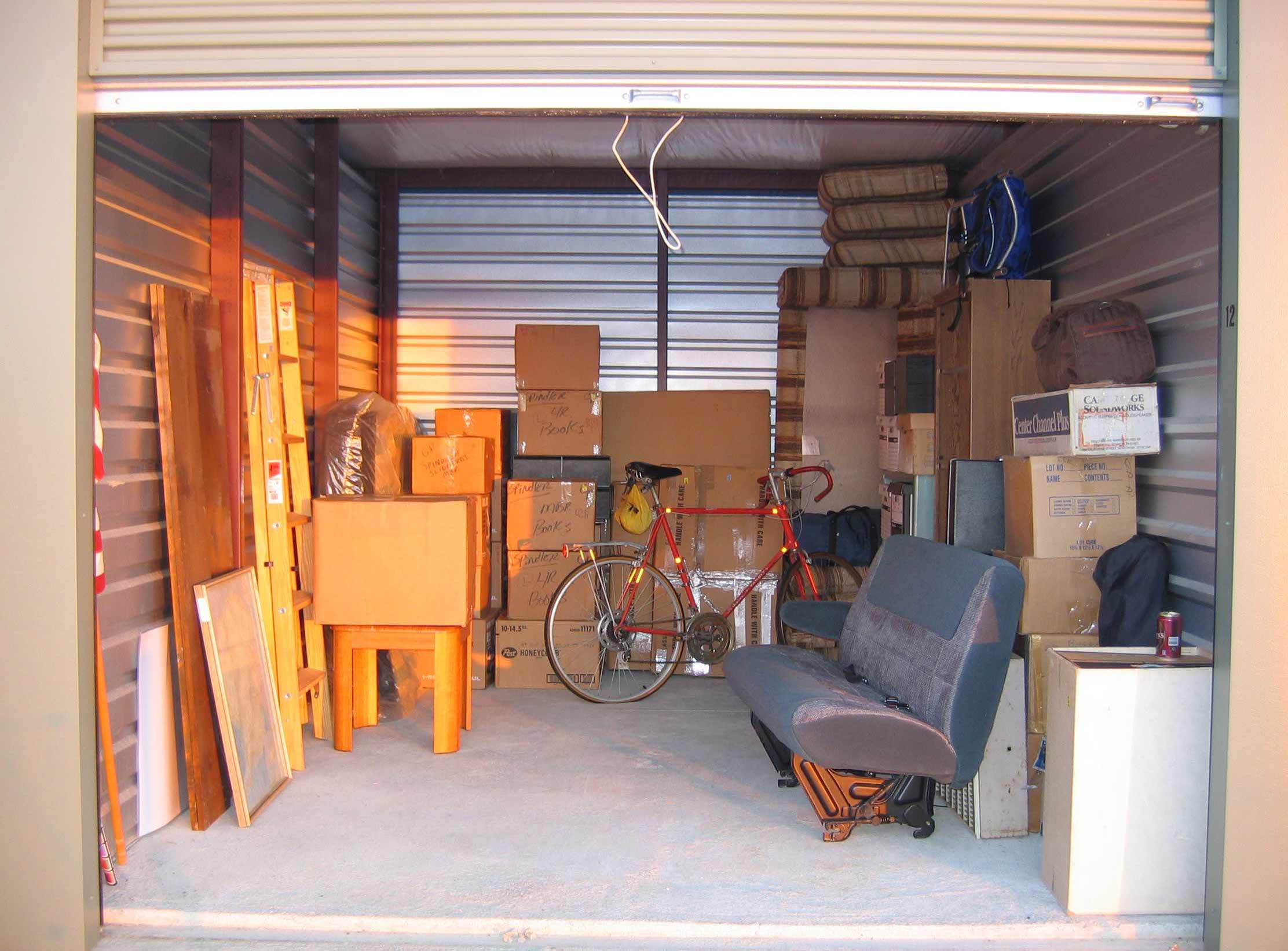Storage Unit Cost Renting A Self Storage Unit Vs Buying A Shipping Container