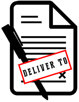 image for deliver to