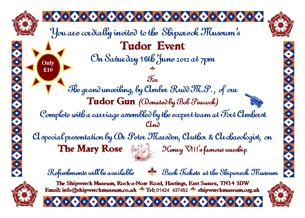 Tudor day invite