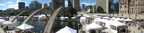 Outdoor Art Festival at Nathan Phillips Square