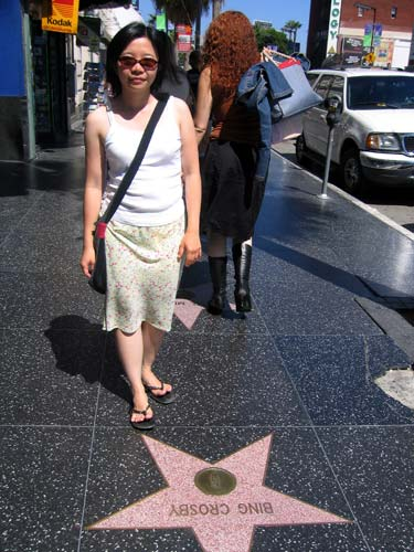 好莱坞星光大道 (Hollywood Walk of Fame)