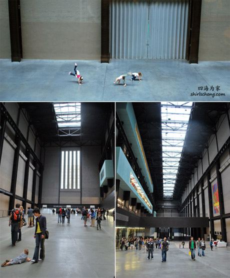 Inside Tate Modern, London
