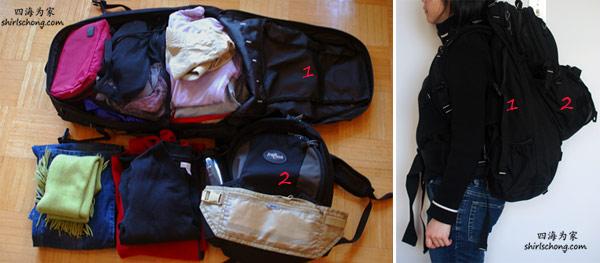 backpacking luggage