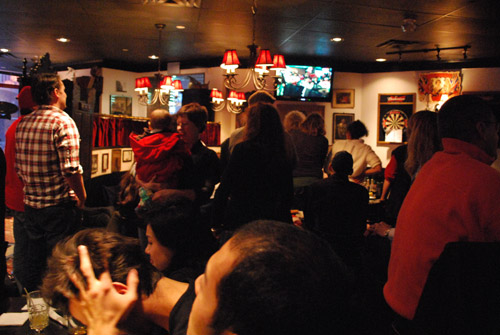 Olympics Hockey Final in a pub (Toronto)