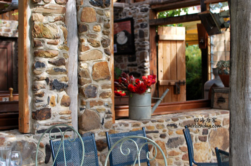 cafe in the lavender farm, Daylesford, VIC, Australia
