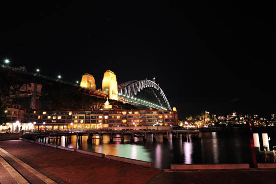 Sydney Opera House Night Shot