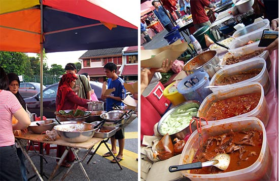 马来传统食物 Malay food in Malaysia