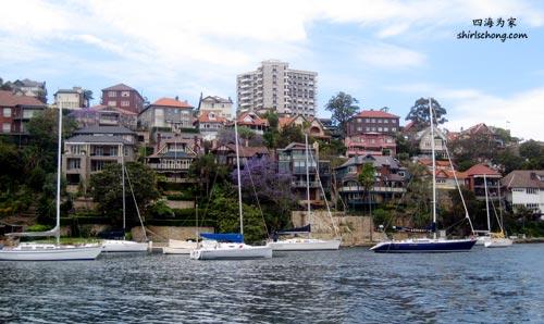靠水的悉尼房屋