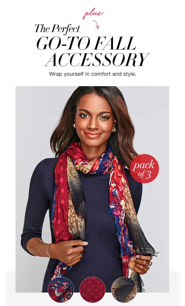 FREE Scarf Set with Your Order