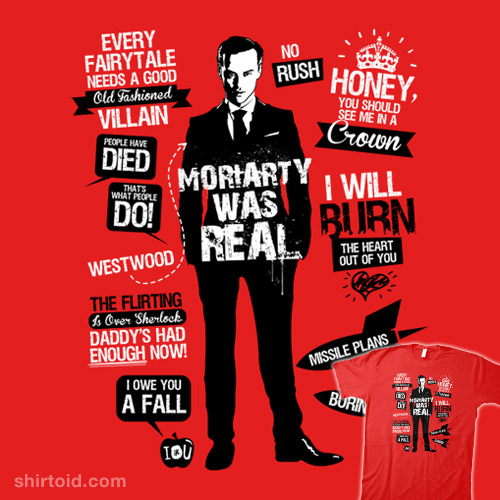 Moriarty Quotes Wallpaper Good Old Fashioned Villain Quotes Shirtoid