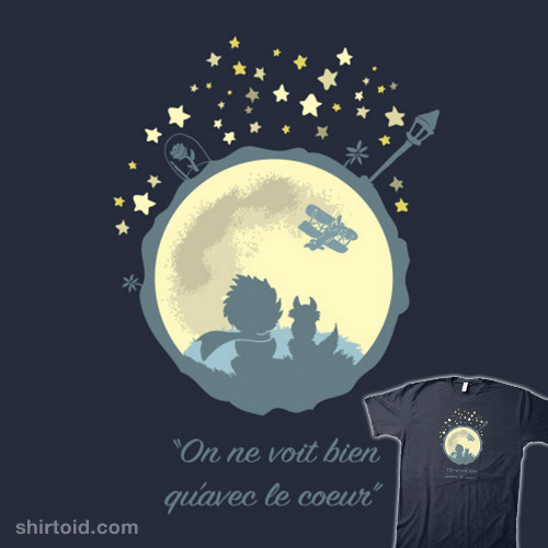 Quote Quote Wallpaper Le Petit Prince Shirtoid
