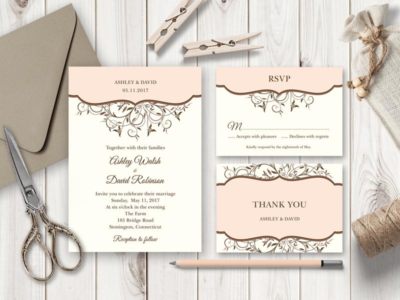diy wedding invitations \u2013 Shishko Templates