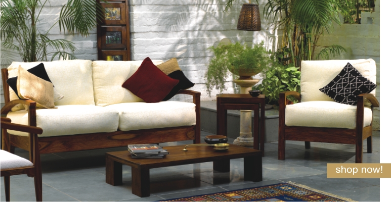 Couch Und Sofas Wooden Sofa Sets India | Sheesham Wood Sofa Sets | Indian
