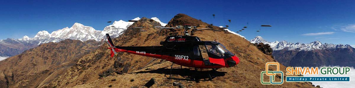 Kailash Yatra from Helicopter