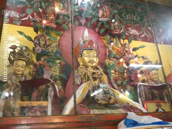 Inside the monastry