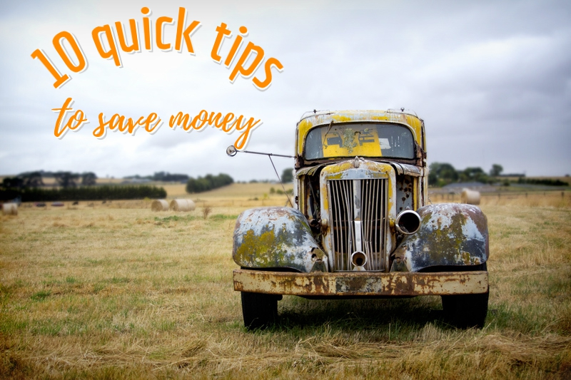 10 quick tips to save money during travel