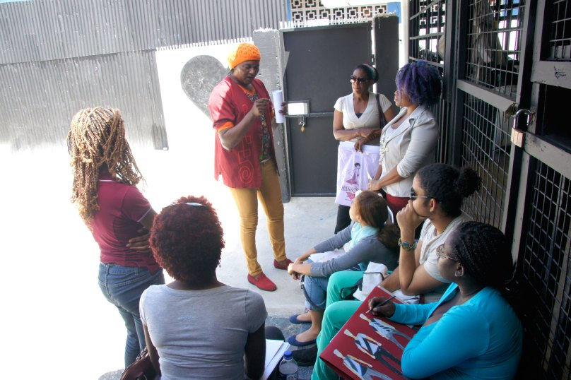 Richard Young captures the attention of Fashion students at early taping for the documentary 'After a Fashion' a Dialogue of the Caribbean Brand as shaped by the Creative Arts. The documentary should be out near the end of the month.