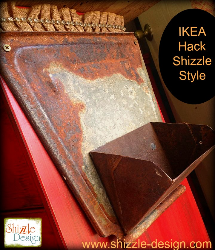 ikea hack fabric junk gypsies kitchen island red chalk paint ideas hacks year happy perfect