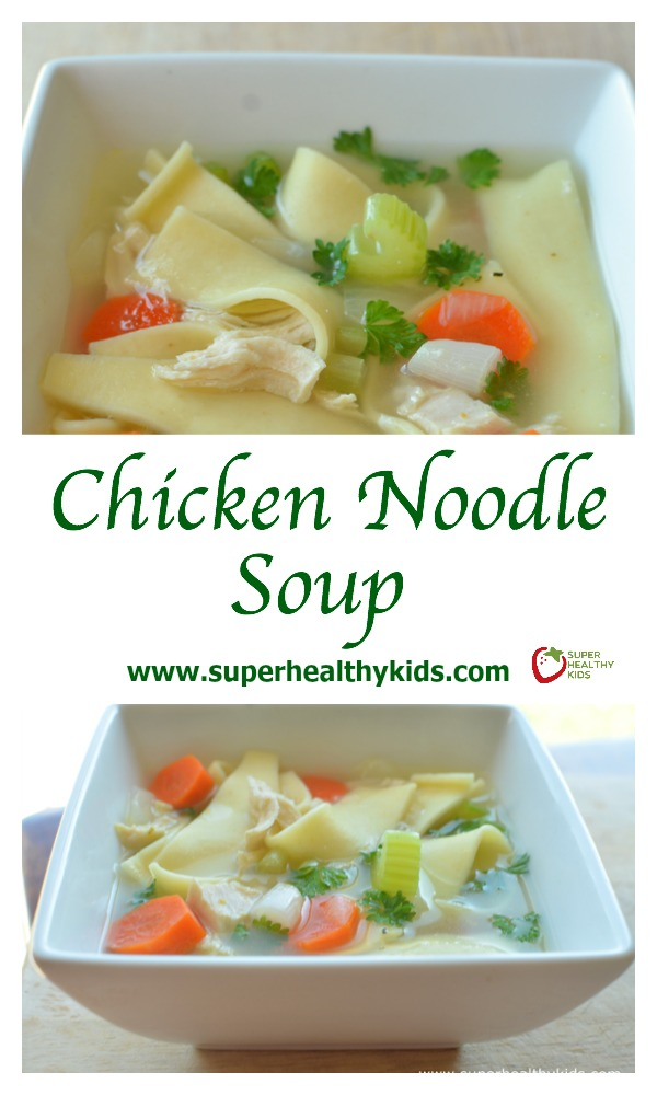 Our Family'S Favorite Chicken Noodle Soup Recipe {The Family