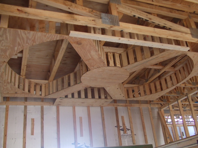 Tray Ceiling Wilson Lake – Shoals Construction