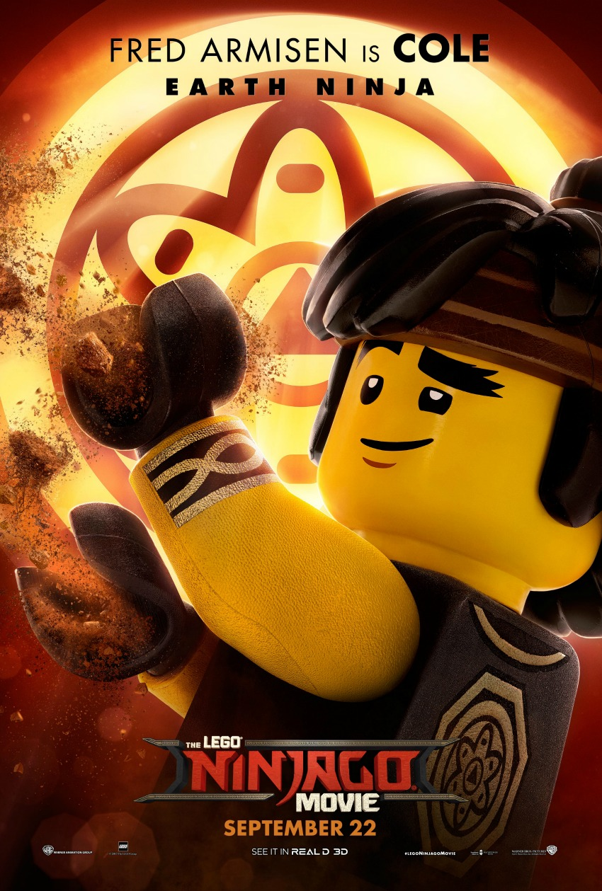 The Lego Ninjago Movie The Lego Ninjago Movie Gets New Character Movie Posters