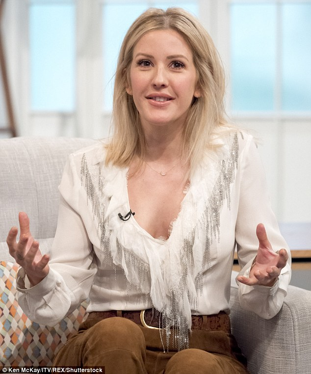 Cut Boy And Girl Wallpaper Ellie Goulding Channels Retro 70s For Lorraine Appearance