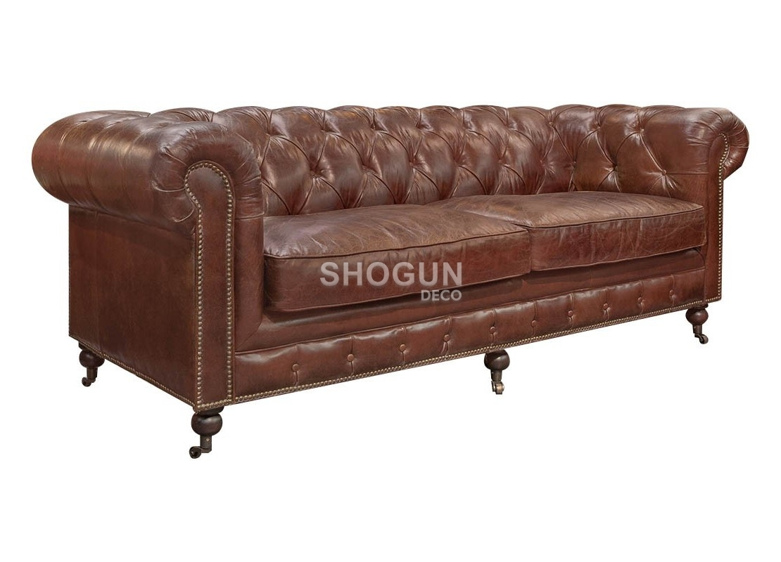 Canapé Chesterfield 2 Places Canapé Club Chesterfield 2 Places Cuir Marron