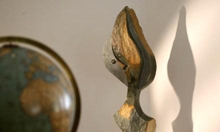 Titel: The Prophet Künstler: Morris Musamba Stein: Green Opal Hoch: 82cm