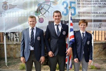 World FITASC 2013 - GB Juniors - Jack Lovick, Rob Russell, Jake Moore