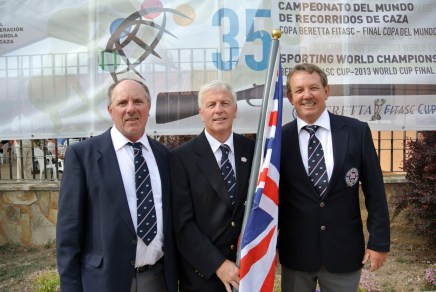 World FITASC 2013 - GB Veterans - Steve Brightwell, John Pool, Steve Grant