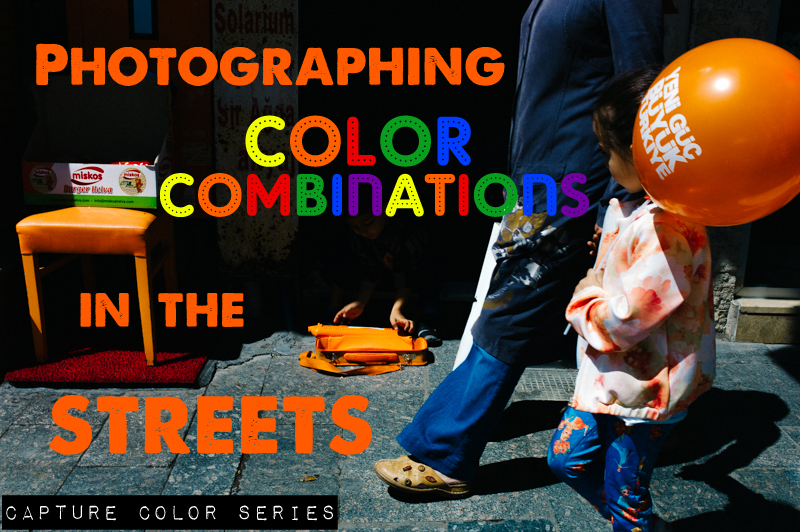 Photographing Color Combinations in the Streets