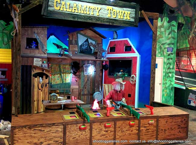 Calamity town shooting gallery