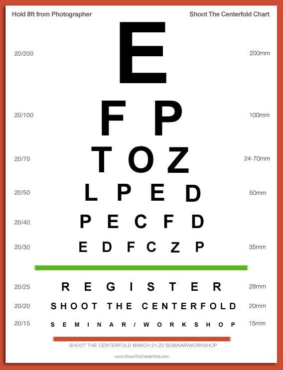 STC\u0027s Free Annual Eye-Exam « Shoot The Centerfold®